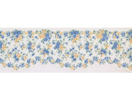 Prepasted Wallpaper Borders - Floral Wall Paper Border 5508500