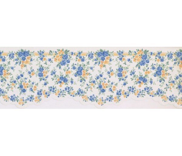 New  Arrivals Wall Borders: Floral Wallpaper Border 5508500
