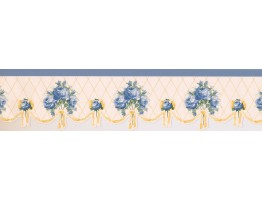 Prepasted Wallpaper Borders - Floral Wall Paper Border 5806626