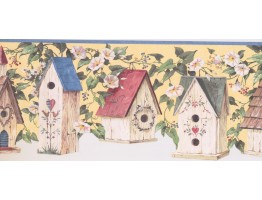 Birds House Wallpaper Border 58101616