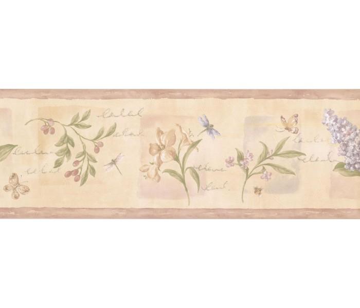 New  Arrivals Wall Borders: Floral Wallpaper Border 5811951