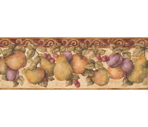 New  Arrivals Wall Borders: Fruits Wallpaper Border 5813920