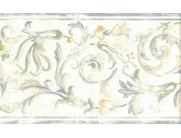 Floral Wallpaper Border 82B66121
