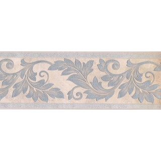7 in x 15 ft Prepasted Wallpaper Borders - Leaves Wall Paper Border 93305