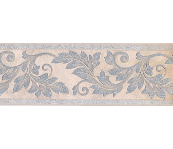 New  Arrivals Wall Borders: Leaves Wallpaper Border 93305