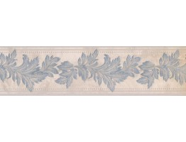 Prepasted Wallpaper Borders - Leaves Wall Paper Border 93309