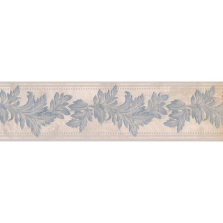 5 in x 15 ft Prepasted Wallpaper Borders - Leaves Wall Paper Border 93309