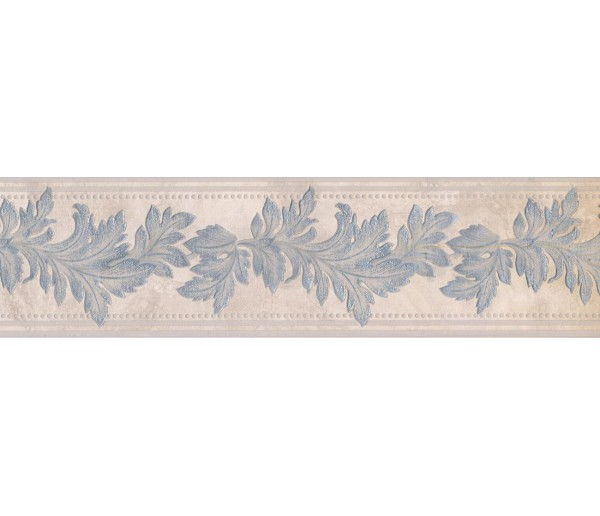 Prepasted Wallpaper Borders - Leaves Wall Paper Border 93309