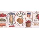 New  Arrivals Wall Borders: Kitchen Wallpaper Border AAI08151B