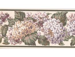 Floral Wallpaper Border AD6940B