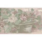 New  Arrivals Wall Borders: Floral Wallpaper Border B61775