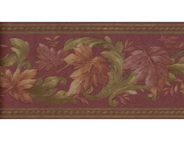 Leaves Wallpaper Border B6623