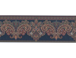 Damask Wallpaper Border BL100900