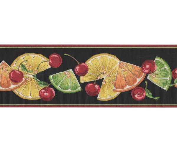 New  Arrivals Wall Borders: Fruits Wallpaper Border BN1999B