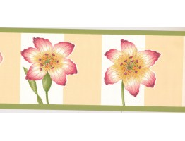 Hibiscus Flower Wallpaper Border BN2060B