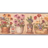 New Arrivals Angels Garden Wallpaper Border BP007184B Cornerstone