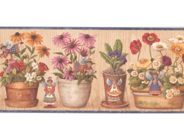 Angels Garden Wallpaper Border BP007184B
