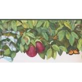 Prepasted Wallpaper Borders - Garden Wall Paper Border BS7700B