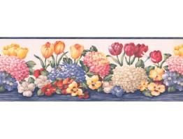 Floral Wallpaper Border BV006191B