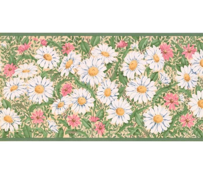 New  Arrivals Wall Borders: Floral Wallpaper Border CC824B