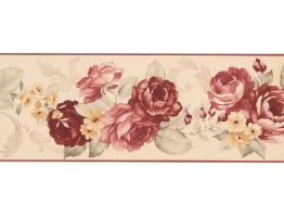 Floral Wallpaper Border CH77625