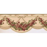 New  Arrivals Wall Borders: Floral Wallpaper Border CH77644DC