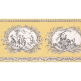 Prepasted Wallpaper Borders - Country Wall Paper Border CH77650