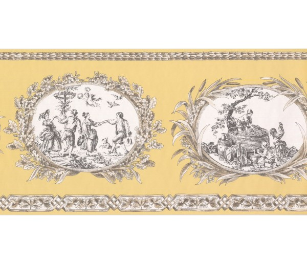 New  Arrivals Wall Borders: Country Wallpaper Border CH77650