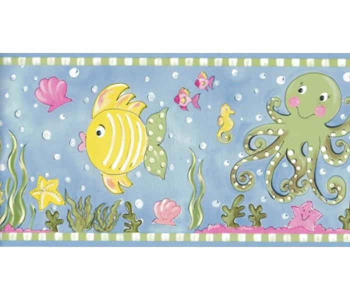 New  Arrivals Wall Borders: Aquarium Wallpaper Border CK83141B