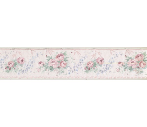 New  Arrivals Wall Borders: Floral Wallpaper Border CN73869