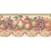 New  Arrivals Wall Borders: Fruits Wallpaper Border CP033104B