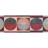 New  Arrivals Wall Borders: Circles Wallpaper Border CT78161