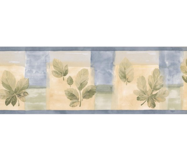 New  Arrivals Wall Borders: Leaves Wallpaper Border CT78177L