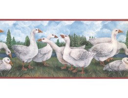 Duck Wallpaper Border CUP3354