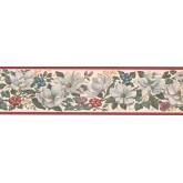 New  Arrivals Wall Borders: Floral Wallpaper Border CUP3392