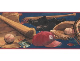 Sports Wallpaper Border DB3668B