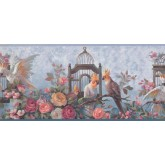 New  Arrivals Wall Borders: Birds Wallpaper Border DB3728B