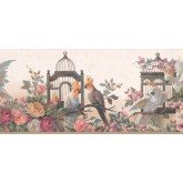 New  Arrivals Wall Borders: Garden Wallpaper Border DB3729B