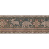 New Arrivals Jungle Animals Wallpaper Border DD670B Seabrook
