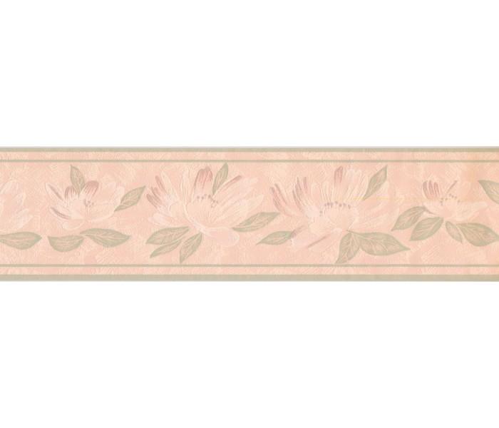 New  Arrivals Wall Borders: Floral Wallpaper Border DES99034