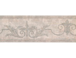 Prepasted Wallpaper Borders - Vintage Wall Paper Border DK1255B