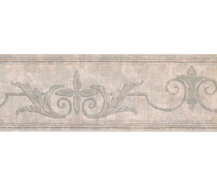 New  Arrivals Wall Borders: Vintage Wallpaper Border DK1255B