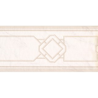 9 in x 15 ft Prepasted Wallpaper Borders - Vintage Wall Paper Border DW5001B