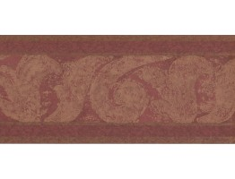 Prepasted Wallpaper Borders - Vintage Wall Paper Border DW5076B