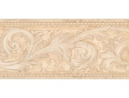 Prepasted Wallpaper Borders - Contemporary Wall Paper Border DW5147B