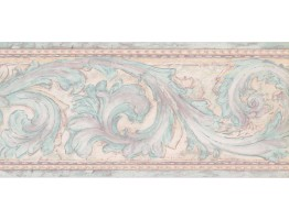 Prepasted Wallpaper Borders - Contemporary Wall Paper Border DW5151B