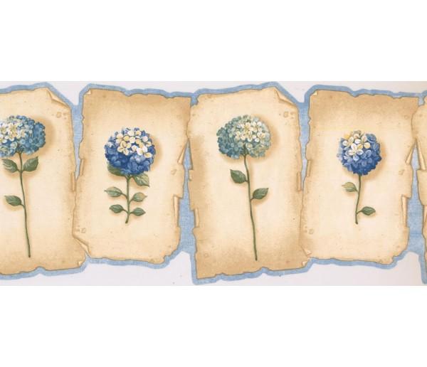 New  Arrivals Wall Borders: Floral Wallpaper Border EG022161B
