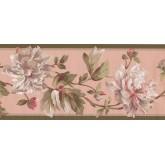 New  Arrivals Wall Borders: Floral Wallpaper Border EP7184B