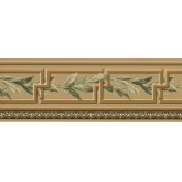 Prepasted Wallpaper Borders - Leaves Wall Paper Border EP7280B