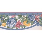New  Arrivals Wall Borders: Floral Wallpaper Border FM24133B
